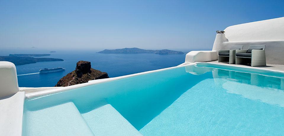 Hotel Bord De Mer Santorin